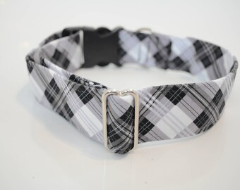 Black checkered Martingale