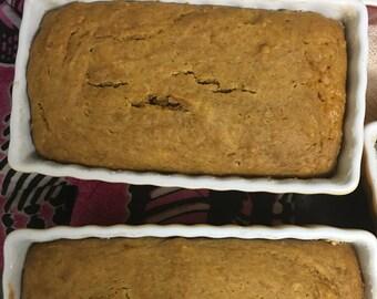 Mini sweet potato bread
