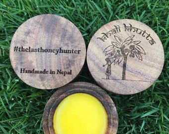 The Last Honey Hunter Beeswax Lipbalm-- Special Limited Edition