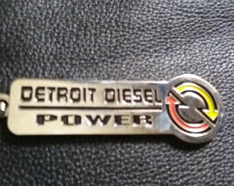 Detroit Diesel Power keychain