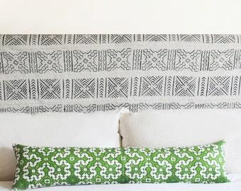 Hmong Garden 10x40 Extra Long Rectangle Pillow