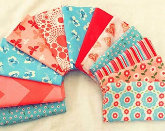 Fabric 12 Fat Quarters Bundle