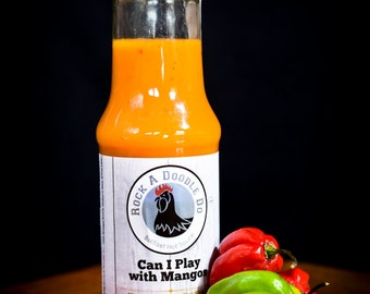 RockADoodleDo - 'Can I Play With Mangos' Mango & Habanero Belfast Hot Sauce