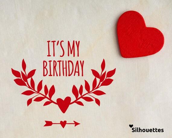 Svg Happy Birthday Set Birthday Girl 5 Typographic