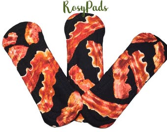 Pantyliner, Reusable Pad, RUMPS, Any Day, Cloth Pads, Reusable Menstrual Pads, Reusable Cloth Pads,  100% Cotton & PUL
