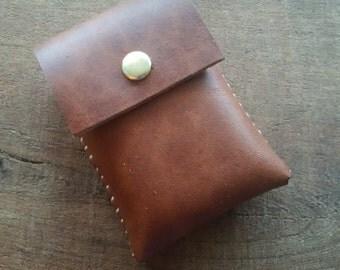 Latigo Leather Match Case