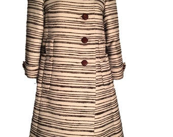 Irene Galitzine Couture 1960s Coat