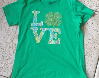 St Patrick's Day Love Tee