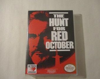 The Hunt for Red October  Custom NES - Nintendo Case (No Game)