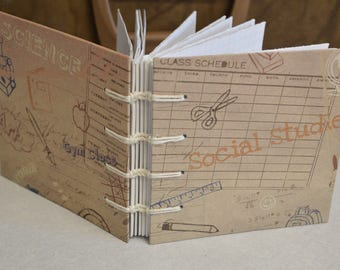 Back to School Notebook/Journal *CLEARANCE PRICED* Condition 'As is'