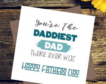 Greetings card / Dad / Birthday / Fathers Day / funny cards / love