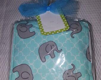 Babies Elephant Burp Cloth