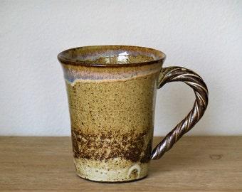 Handmade Mug (16oz), Ceramic Mug, Pottery Mug, Coffee Mug, Tea cup, Stoneware Mug