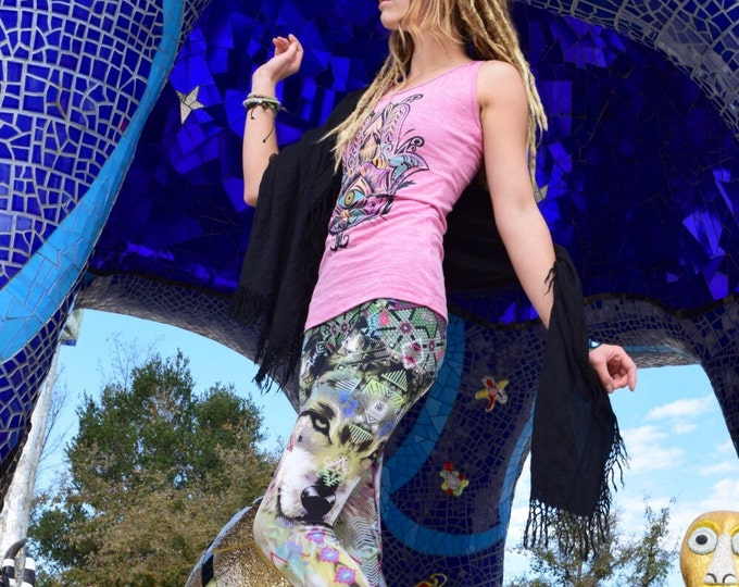 Sacred Wolf Pathfinder Leggings Yoga Pants