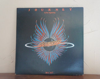 Journey In the Beginning 1975-1977 LP Record Vintage 1970S