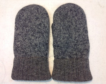 Sweater Mitten - Black and Grey - Free Shipping in U.S.