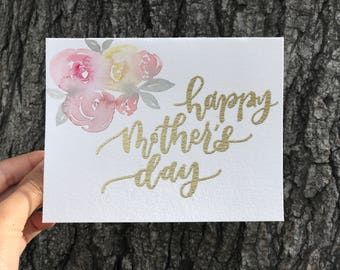 Mother's Day Card (pink)