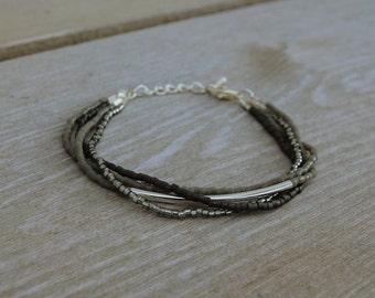 Harmony bracelet gray