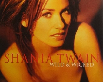 Shania Twain 20x30 Wild and Wicked Promo Music Poster