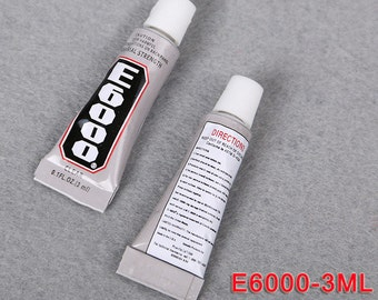 E6000, Strong Glue, Industrial Glue, Rhinestone Glue, Craft Glue, Adhesive, Bling Glue, Jewellery Glue, Jewelry Glue, Art Glue, E 6000,