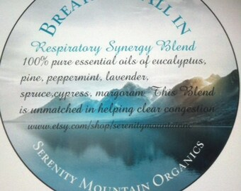 Breathe It All In   Organic Respiratory Essential Oil Synergy
