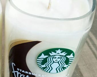 1 Starbucks soy wax candle