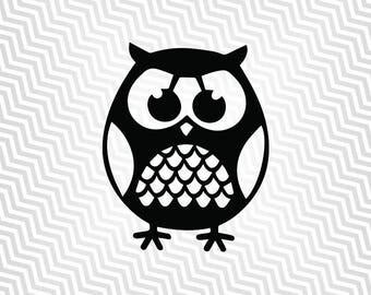 Owl svg, Owl Design, Baby Owl, Cutout, Vector art, Cricut, Silhouette Cameo, die cut, instant download, Digital Cut, Print Files, Pdf