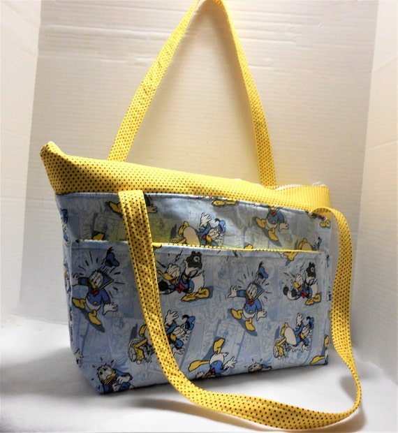 Duck diaper bag