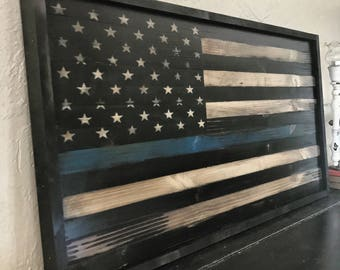 Wood American Flag Wall Art wood american flag // american flag wall art // rustic