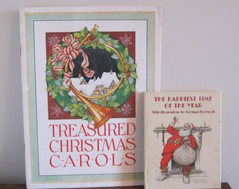 Books, Christmas Books, Christmas Carols and Poems, Xmas Books