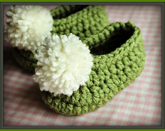 Crocheted Baby Fairy Booties, Fairy Shoes