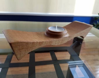 Maple Candle Holder