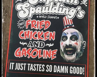 Captain Spaulding print. Devils rejects / house of 1000 corpses