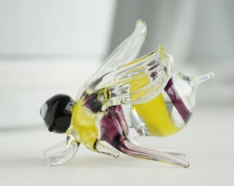 Insect, Glass Figurine, Collectible Figurine, Glass Sculpture, Mini Glass Figurine, Glass Figurine, Figure Glass, glass insect, Mini Glass