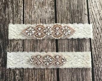 Wedding garter, pearl garter, blue  garter, garter toss, lace and pearl, wedding garter set, garter set, blue wedding garter,