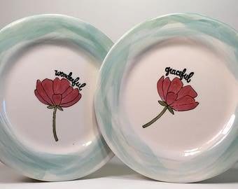 Wonderful and Graceful Salad Plates