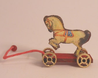 Miniature 1:12 Scale Horse Pull-Toy KIT