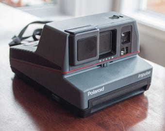 Polaroid 600 Impulse AF Auto Focus System vintage, analog, instant camera 128