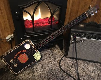Punch 3 string Cigar Box Guitar