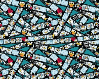 Disney The Donald Show Cotton Fabric