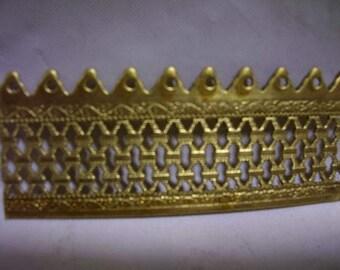 "Lamp Banding Brass 7/8"""