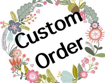 Custom number applique