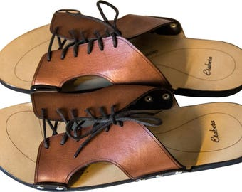 Handmade Sandals from vegetable tanned leather Man