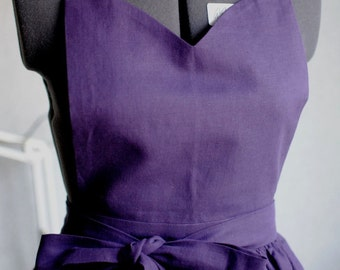 Apron Purple