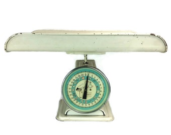 Vintage Scale, Penny's Nursery Scale, Baby Scale, Kitchen Scale, 30 Lb.