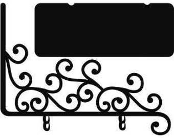 2 planches Stickers Enseigne ardoise 25x35cm