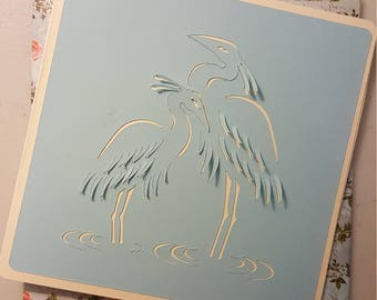 Blue herring mothers day card