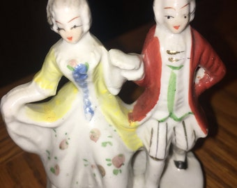 Victorian Figurine Couple Made in unoccupied Japan