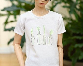 BJD SD17 Plant T Shirt – White