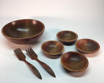 1960's Mort N. Marton salad bowl set